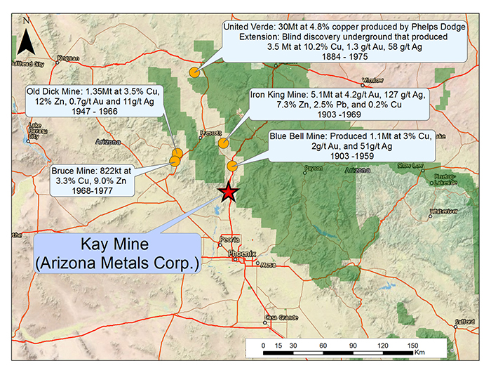 Kay Mine Regional Production History Image 1